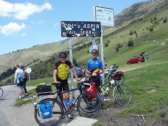 Top Col d' Aspin