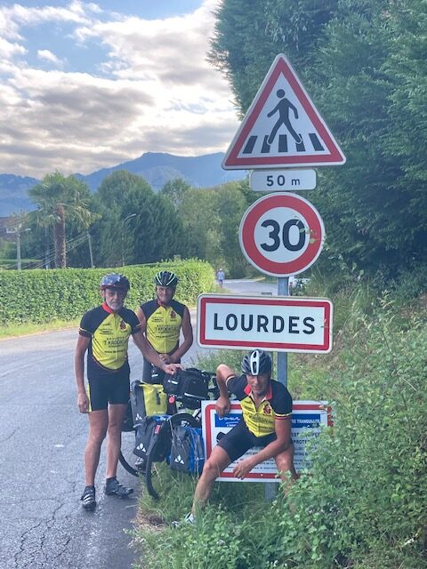 Cycling Team 't Kroontje in Lourdes
